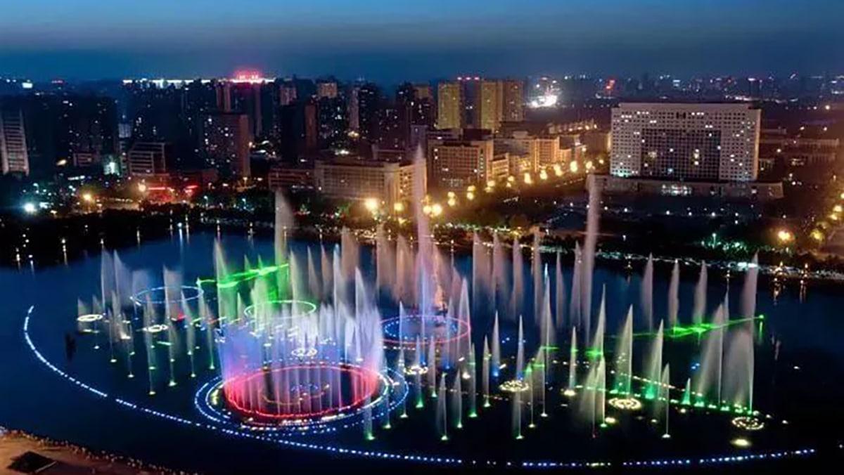 Kaiyuan Lake Musical Fountain